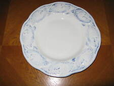 POTTERY BARN Large Round OCEANSIDE Serving Platter Blue Fish ~ Portugal