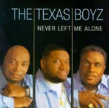 Texas Boyz - Never Left Me Alone - New Factory Sealed CD