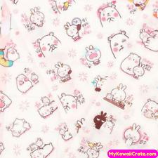 Kawaii Cute Bear & Rabbit In Love Stickers, Decorative Sticker Planner Scrapbook