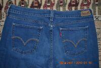 "Levi's 515 Women's Boot Cut Jeans Stretch Medium Wash 11"" Rise 34"" W x 29.5"" L"