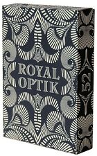 Royal Optik Limited Edition Black Playing Cards Deck New