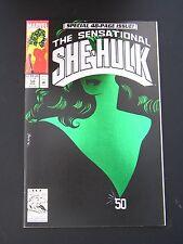 Sensational She-Hulk #50 NM- 1993 Foil Cover High Grade Marvel Comic  Incredible