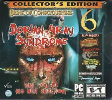 DORIAN GRAY SYNDROME + WEIRD PARK BROKEN TUNE Hidden Object 6 PACK PC Game NEW
