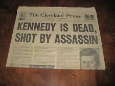 John F Kennedy Assassination Newspaper Full Set JFK News Papers