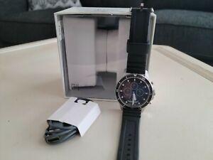 Fossil Hybrid Smartwatch HR FB-01 Black Silicone (FTW7018)