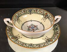 Royal Worcester--Chantilly--(1) Cream Soup Set--(7) Sets Available--BUY IT NOW!