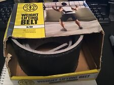 golds gym weight lifting belt S/M