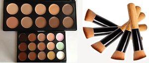 Face Makeup Concealer Camouflage Neutral Contour Palette Set 10 and 15 colours !