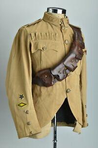 British Military Pattern WW1 Era Leather Ammo Clip Bandolier Belt. BZV