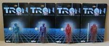 NECA 2001 Tron Disney 20th Anniversary figures - Tron, Flynn, Sark and Warrior