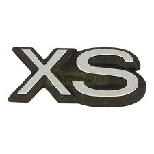 SAAB CLASSIC 900 90-93MY XS BADGE EMBLEM BRAND NEW OLD STOCK GENUINE VERY RARE