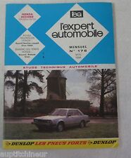 Revue technique EXPERT AUTOMOBILE 176 1981 Honda Accord (modèles 1979)