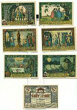 OLD GERMANY EMERGENCY PAPER MONEY - NOTGELD Calbe a.d. Saale 1917