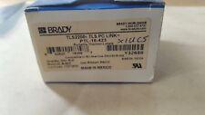 BRADY TLS2200 TLS PC LINK PTL-16-423 PORTABLE THERMAL LABELS (U2.6B4)