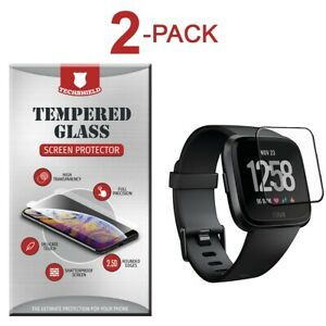 For Fitbit Versa 2 / Lite Edition Tempered Glass Screen Protector [2-Pack]