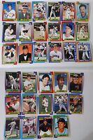 1990 Topps San Francisco Giants Team Set of 32 Baseball Cards