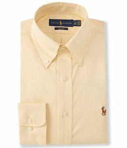 Polo Ralph Lauren Classic Fit Button-Down Solid Oxford Dress Shirt 16 34/35