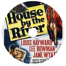 THE HOUSE BY THE RIVER (1950) LOUIS HAYWARD/JANE WYATT/LANG/FILM NOIR/CRIME DVD