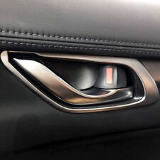 Matte Interior Door Handle Bowl Cover Trim 4pcs For Mazda CX-5 2nd Gen 2017-2018