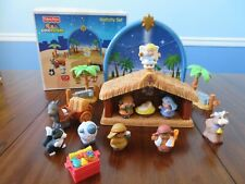 2008 Fisher Price Little People Nativity Set