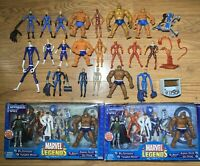 Fantastic Four Marvel Legends Toybiz Hasbro MEGA Lot RARE New In Box And Loose
