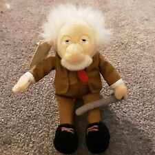 Disney Store Muppets Show NWT - Waldorf - Plush Toy Doll  Beanie Base