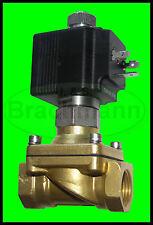 "Magnetventil SVS 1/2"" 230V 50Hz 0-14bar NO Viton Heizung Wasser Luft Industrie"