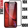 Wholesale Bulk iPhone 11 XR Xs Screen Protector Full Coverage Tempered Glass Lot