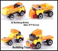 Kid's Educational Toys Building Blocks Toys Minifigures Carrier Car Fun
