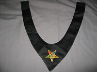 Order of Eastern Star Cravat Patron OES Tie Masonic Fraternity NEW!