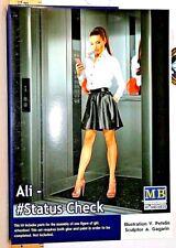 Highly detailed pinup Master Box Dangerous Curves series Ali - #Status Check Nib