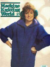 Machine Knitting World #27 1988 Machine Knitting Patterns UK SWP Magazine