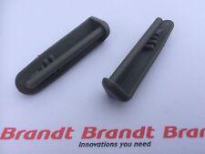 Brandt - 2x Dishwasher Cutlery Basket Rail REAR END CAP (PAIR)