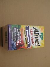 NATURE'S WAY ALIVE MAX3 DAILY WOMEN'S VITAMINS EXP 08/2021 QUANTITY DISCOUNT