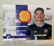 2020 Jesse Gonzalez Topps MLS Soccer 2 Color Patch / Relic /319