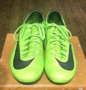Men's Football Boots Trainers Nike MERCURIAL Lime Green UK 11 US 12 EUR 46