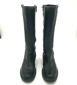 TIMBERLAND Womens Boots Size 8.5 EUR 39.5 Leather Riding Soft Dark Green 61629