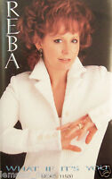 Reba McEntire What If It's You  Cassette 1996