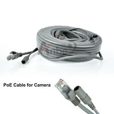 DC 12V Power in RJ45 Network POE 20m Cable For CCTV IP Security PoE CAMERA NVR