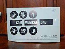 Libro De Clip De Comunicaciones 1964 completa de Line Art Harry Volk Jr Studio - #120