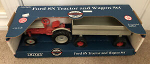 New ERTL Ford 8N Tractor and WagonSet 1/16 Scale Vintage in Original Box 309 USA