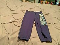 JUSTICE Girl's Blue Soccer Sweat Pants. Size 10   USA FREE SHIPPING!