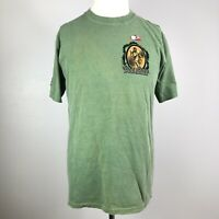 Crazy Shirts Mens M UH Hawaii Warrior Football Ti Leaf Dyed Short Sleeve T Shirt