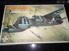 Classic Matchbox Junkers JU188 1/72nd 3 colour model kit. PK-109 Complete