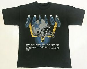 Vintage Magic Johnson NFL Dallas Cowboys Football T-Shirt Black L Tee USA