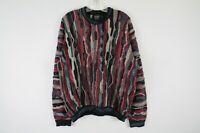 Vintage Coogi Rare 100% Cashmere Pullover Sweater Size Medium