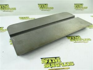 """NEW SLOTTED TABLE FOR GRINDER - MILLING MACHINE 7-1/2"""" X 14-3/4"""""""