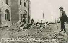 San Francisco Ca * Post Office 1906 Earthquake * Adolph Selige Pub.