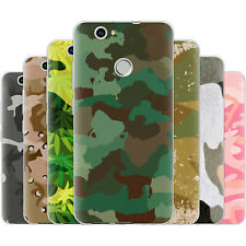 Dessana Camouflage TPU Silicone Protective Cover Phone Case Cover For Huawei
