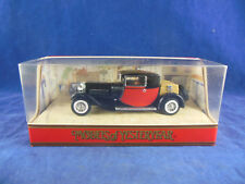 Matchbox Yesteryear Y24 1927 Bugatti T44 In Black with red panels Ex Shop Stock